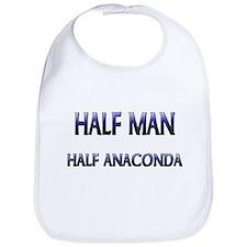 Half Man Half Anaconda Bib