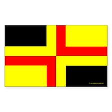 Drachenwald Ensign Rectangle Sticker