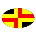 Drachenwald Ensign Oval Sticker (50 pk)
