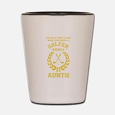 golfer family Shot Glass