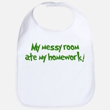 Ate My Homework Bib