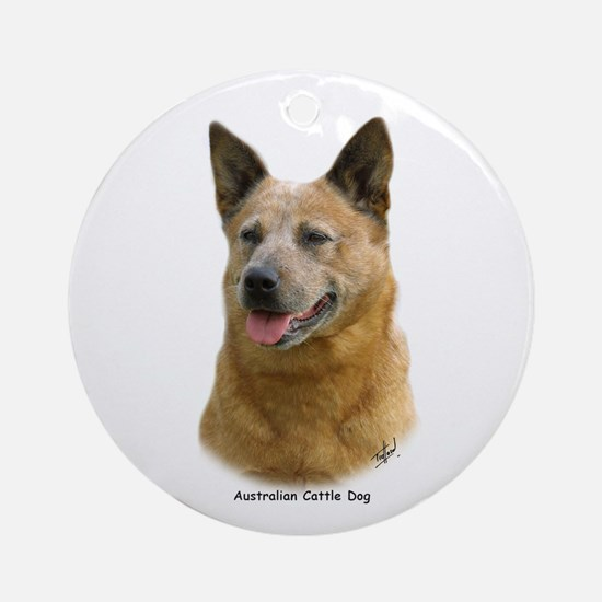 Aust Cattle Dog 9K009D-19 Ornament (Round)