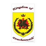 Kingdom of Drachenwald Rectangle Sticker