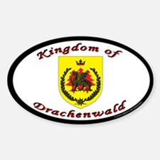 Kingdom of Drachenwald Oval Decal