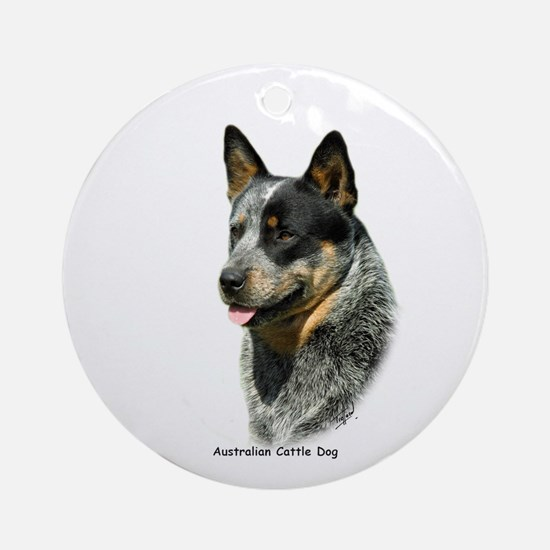 Australian Cattle Dog 9F061D-05 Ornament (Round)