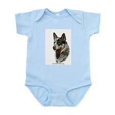 Australian Cattle Dog 9F061D-05 Infant Bodysuit