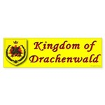 Kingdom of Drachenwald Bumper Sticker