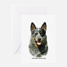 Australian Cattle Dog 9F061D-03 Greeting Card