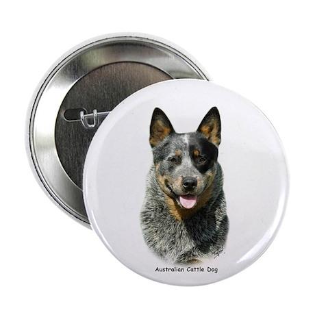 """Australian Cattle Dog 9F061D-03 2.25"""" Button"""