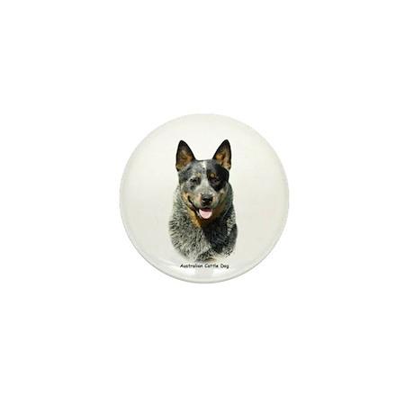 Australian Cattle Dog 9F061D-03 Mini Button (10 pa
