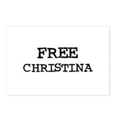 Free Christina Postcards (Package of 8)