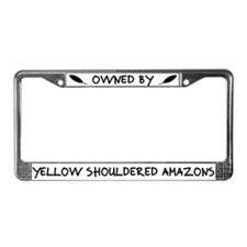 Owned by YS Amazons License Plate Frame
