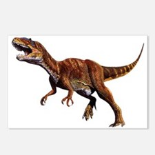 Allosaurus Jurassic Dinosaur Postcards (Package of