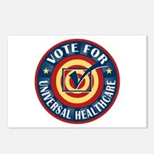 Vote for Universal Healthcare Postcards (Package o