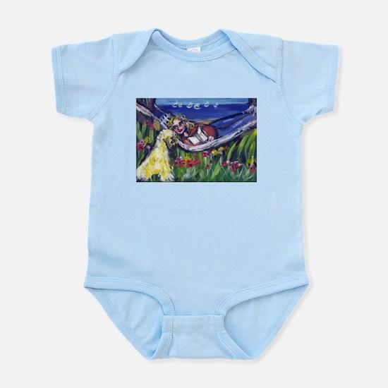 Wheaten Ocean vacation Infant Creeper