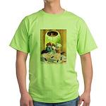 ROOSEVELT BEARS LET FREEDOM RING Green T-Shirt