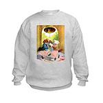 ROOSEVELT BEARS LET FREEDOM RING Kids Sweatshirt