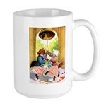 ROOSEVELT BEARS LET FREEDOM RING Large Mug