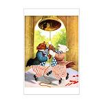 ROOSEVELT BEARS LET FREEDOM RING Mini Poster Print
