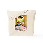 ROOSEVELT BEARS LET FREEDOM RING Tote Bag