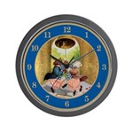 ROOSEVELT BEARS LET FREEDOM RING Wall Clock