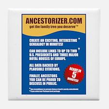 Ancestorizer Tile Coaster
