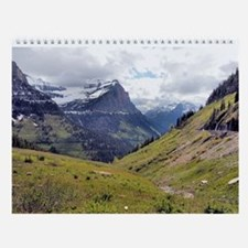 Glacier National Park Wall Calendar