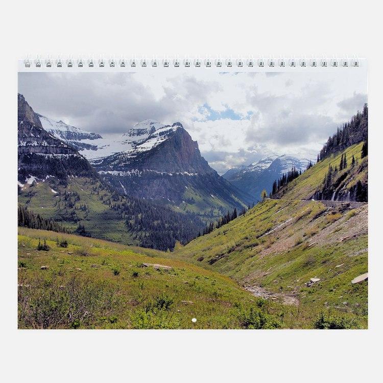 Glacier National Park Wall Calendar