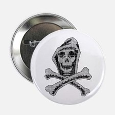 Vintage SKull & Crossbones Button