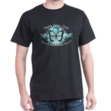 Tourette's Tribal Butterfly T-Shirt