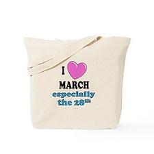 PH 3/28 Tote Bag
