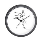 The Fairy Silhouette Wall Clock