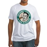 Gourmet Coffee Fitted T-Shirt