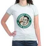 Gourmet Coffee Jr. Ringer T-Shirt