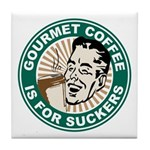 Gourmet Coffee Tile Coaster