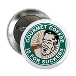 "Gourmet Coffee 2.25"" Button (100 pack)"