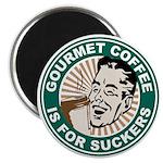 """Gourmet Coffee 2.25"""" Magnet (100 pack)"""