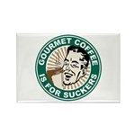 Gourmet Coffee Rectangle Magnet