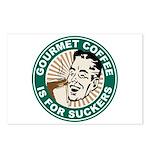 Gourmet Coffee Postcards (Package of 8)
