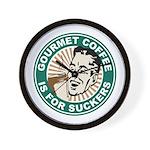 Gourmet Coffee Wall Clock