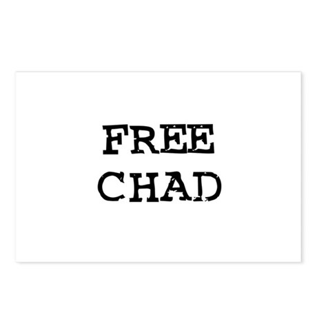 Free Chad Postcards (Package of 8)