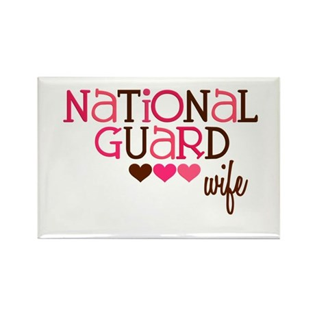NG Wife Rectangle Magnet