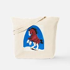 Draft Horse Play Tote Bag