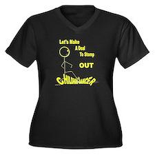Team Brendan Women's Plus Size V-Neck Dark T-Shirt