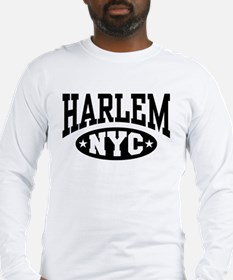 Harlem NYC Long Sleeve T-Shirt