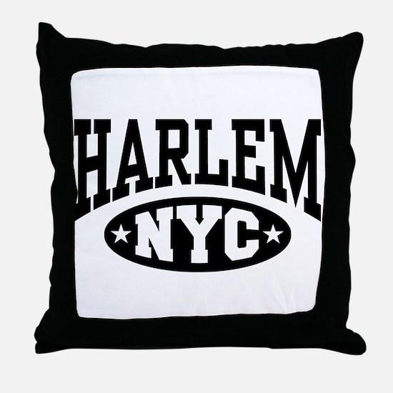 Harlem NYC Throw Pillow