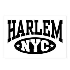 Harlem NYC Postcards (Package of 8)