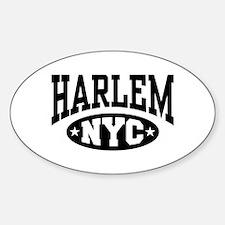 Harlem NYC Oval Decal