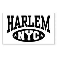 Harlem NYC Rectangle Decal