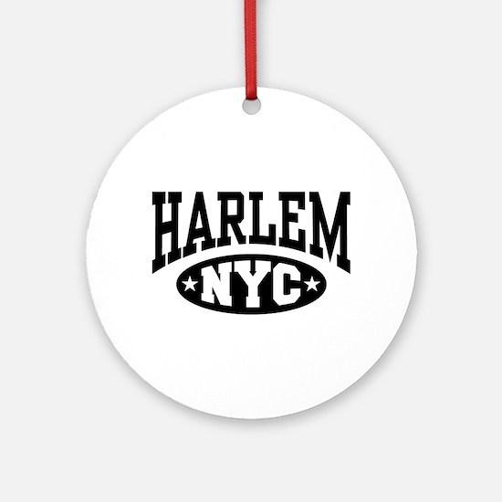 Harlem NYC Ornament (Round)